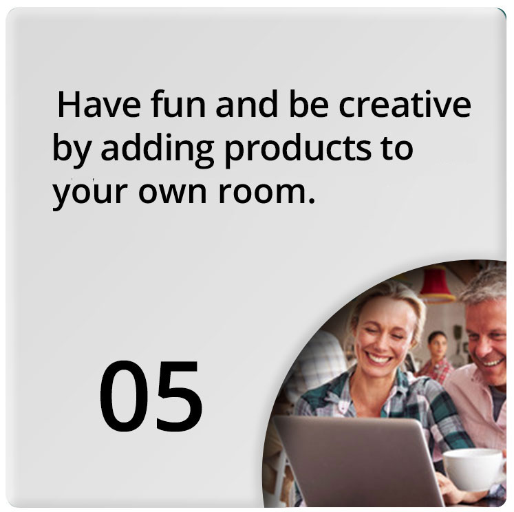 Have fun designing your room